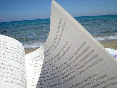 Lettura di poesie al mare
