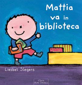 Cop Mattia va in biblioteca