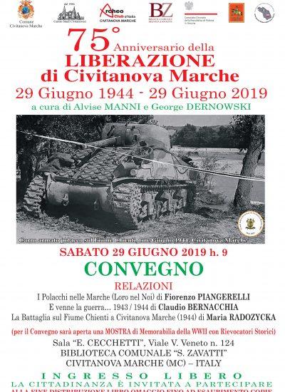 29 giugno 2019: i 75 anni della liberazione di Civitanova Marche