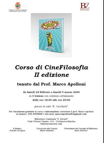 Corso di CineFilosofia