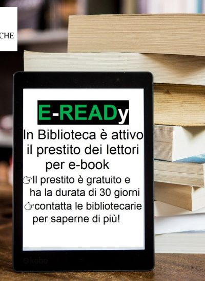 Prestito dei lettori per e-book